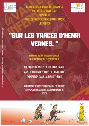 """""""Sur les Traces d'Henri Vernes"""""""